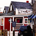 Shopping In Perkins Cove Maine by Craig David Morrison