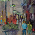 Shopping On The Mag Mile by Karen Margulis