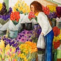 Shopping Pike's Market by Vicki  Housel