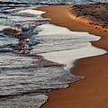 Shore Of Lake Michigan by Sheli Kesteloot