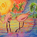 Shorebirds by W Gilroy