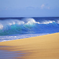 Shorebreak Waves by Ali ONeal - Printscapes