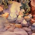Shoreline Rocks by Teresa Ascone