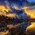 Shoreline Sunrise by Bill Piacesi