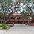 Shores Building At Florida State University by Bryan Pollard