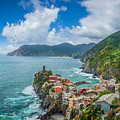 Shores Of Cinque Terre by JR Photography
