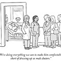 Short Of Dressing Up As Male Doctors by Paul Noth