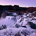 Shoshone Falls In Winter by Surjanto Suradji
