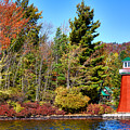 Shoul Point Lighthouse - Old Forge by David Patterson