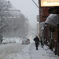 Shoveling Snow by Margaret Brooks