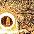 Shower Of Fire by Luke Clark