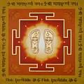 Shri Maha Lakshmi Paduka by Piitaa - Sacred Art