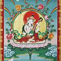 Shri Saraswati - Goddess Of Wisdom And Arts by Sergey Noskov