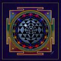 Shri Yantra by Vincent Autenrieb