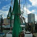 Shrimp Boat Back by Robert Brown