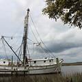 Shrimp Boat by Cheryl Kostanesky