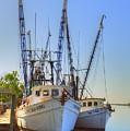 Shrimp Boats by Linda Covino