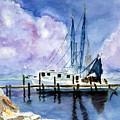 Shrimpboat by Carol Sprovtsoff