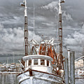 Shrimper In Eastern North Carolina by Cindy Archbell