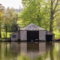 Shropshire Boathouse by Edward Burchnall