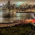 Shrouded City 5255 by Karen Celella