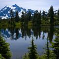 Shuksan In Spring by Idaho Scenic Images Linda Lantzy