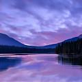 Shunda Lake At Dawn by Philip Rispin