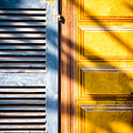 Shutter And Ornate Wall by Silvia Ganora
