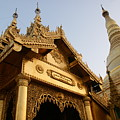 Shwedagon At Sunset by Jessica Rose