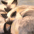 Siamese Lovers by Susan A Becker