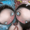 Siamese Twins by  Abril Andrade Griffith