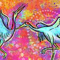 Siberian Cranes by Morgan Richardson