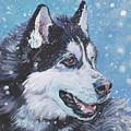 Siberian Husky by Lee Ann Shepard