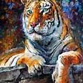 Siberian Tiger by Leonid Afremov
