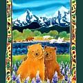 Sibling Bears Of Katmai by Harriet Peck Taylor