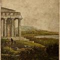 Sicilian Scenery 1823 by Laurent P TELIAS