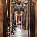 Side Aisle Of The Basilica Of The Mafra by Jose Elias - Sofia Pereira