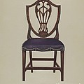 Side Chair (one Of Six) by Alfred Nason