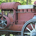 Side Of Mccormic Deering Tractor   # by Rob Luzier