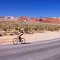 Side Profile Of A Person Cycling by Panoramic Images