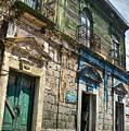 Side Street Homes Antiqua Guatemala 5 by Douglas Barnett