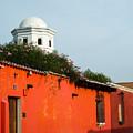 Side Street Homes Antiqua Guatemala by Douglas Barnett