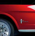 Side View Of 1964 Ford Mustang by Ruurd Dankloff