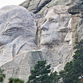 Side View Of Mount Rushmore  8696 by Jack Schultz