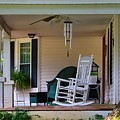 Side View Of Porch by Kathryn Meyer