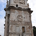 Side View Of The Arch Of Constantine by Tammy Mutka
