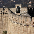 Side View Of The Great Wall by Carol Groenen