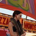 Sideshow Performer by Diane Falk