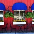 Sidewalk Cafe by Natalie Ortiz