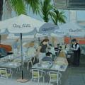Sidewalk Cafe Study by Robert Rohrich